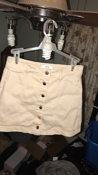 Forever 21 Los Angeles Tan Button Up Skirt (US 26) Altoona, 50009