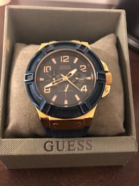 Guess Blue and Gold Watch Toronto, M6H 1E6