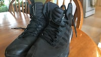Pair of black nike hyperdunk 2016