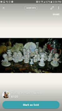 precious moments figurines collection Columbus, 43215