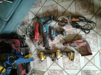 Power tools, also a harness with some random hand  New York, 10029