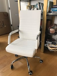Brand New Conference Chair In White