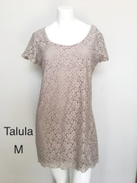 Aritzia Talula Beige Lace Dress Burnaby, V5C