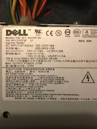 Dell 275W Power Supply Des Moines