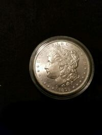 1879 S MORGAN SILVER DOLLAR UNCIRCULATED Tavares, 32778