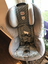 baby's gray and white car seat Great Falls, 22066