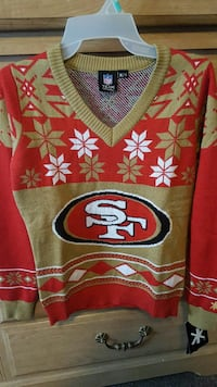 49ers Sweater great Christmas present ..not a 49er