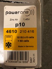 Hearing aid batteries. . brand new... New Haven, 06512