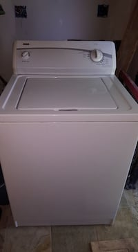 white front-load washer null