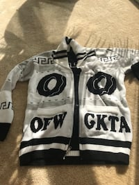 White and black Odd future sweater Rockville, 20852