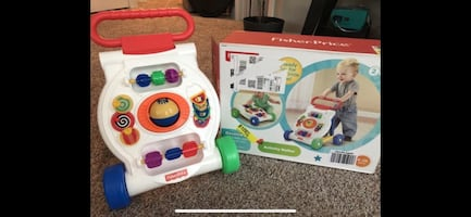 Fisher Price Activity Walker baby toy