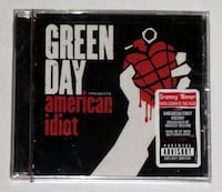 GREEN DAY - AMERICAN IDIOT CD FROM 2004, NEW AND FACTORY SEALED, PUNK ROCK Toronto