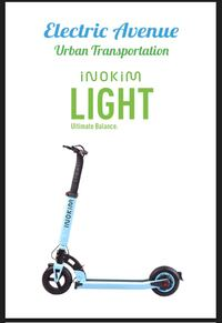 Electric Stand up scooter.