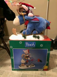 Eeyore and Piglet- Christmas decor Edison