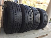 set of 4 winter tires good condition tires size 225/55/R17 SUNFUL SF- 982 Brampton, L6R 3M6