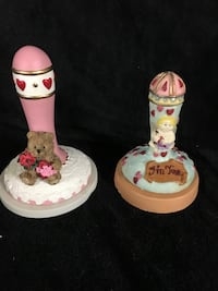 Two Valentines Cookie Stamps Press Bear Cupid