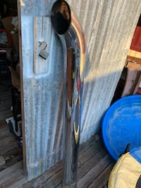 Chrome exhaust pipe for Tractor