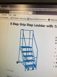8 Step Rolling Ladder  Toronto, M1P 2P2