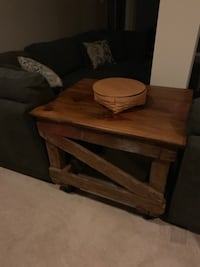 Rustic industrial rolling table Accokeek, 20607