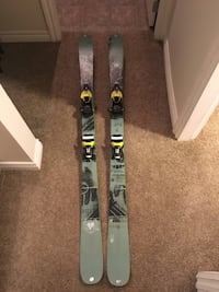 K2 sight 159 skis with bindings North Vancouver, V7K 2R2