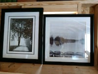 two black wooden framed painting of trees Ocala, 34470