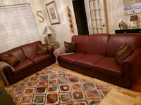 Italian leather couch & loveseat Montreal, H1P 1J2