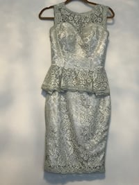 Grey and silver lace dress  Innisfil, L9S 2C6