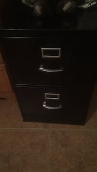 Black, metal file cabinet Scottsdale, 85259