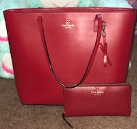 Kate spade tote and wallet  Hagerstown, 21740