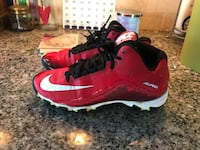 Excellent condition Size 4 Youth Boys Nike Alpha Baseball Cleats