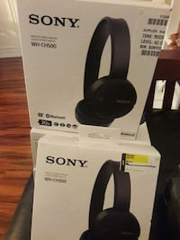 Brand new sony bluetooth WH-CH500 headset on ear