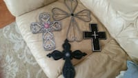 black and gray cross wall decor Dallas, 75270