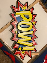POW comic frame  Shafter, 93263