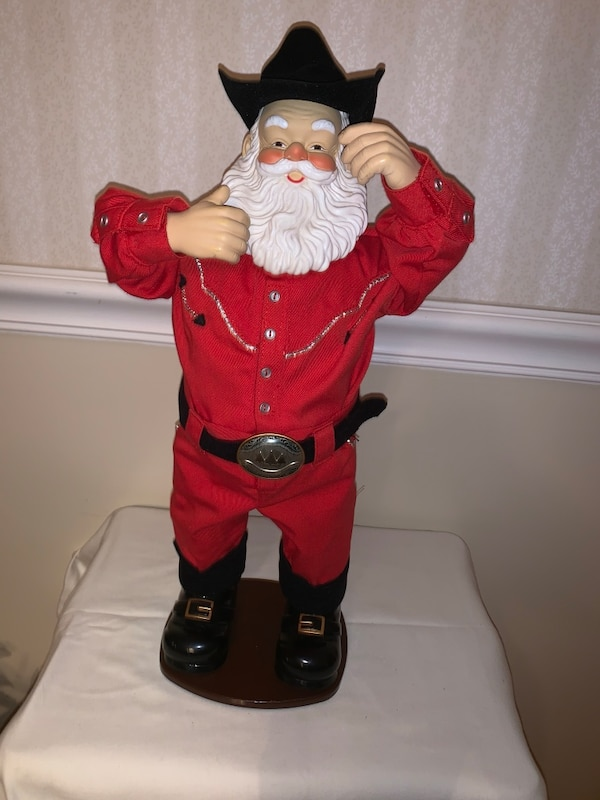 Country Music Holly Jolly Rock Santa Alan Jackson Christmas Collection Collectible Decoration