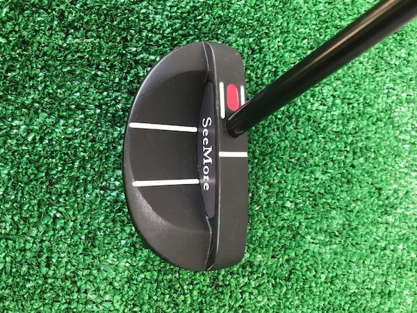 SeeMore Milled ss303 Mallet Golf Putter with Matching SeeMore Head Cover 5aa6eb73-c750-4ff8-a169-de844241ba51