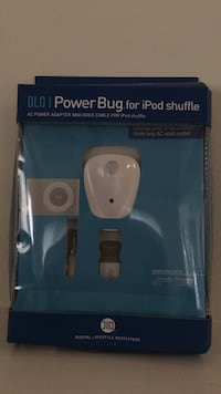white Power Bug for iPod shuffle kit in box Upper Marlboro, 20772