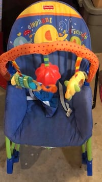 Baby rocking/reclining seat $10 Available in NW in Sage hill  Rocky View No. 44
