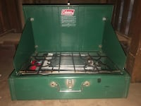 1973 coleman stove Comes with the rare silver tray for the side