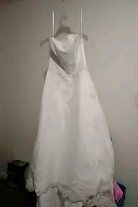 Michelangelo white strapless wedding dress Brandon, 39042