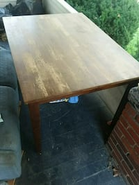 rectangular brown wooden dining table Cleveland, 44109