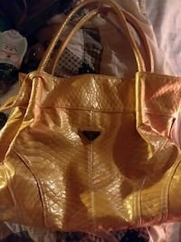 Prada yellow purse