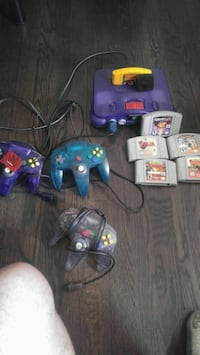 N64 complete set w\ 3 controllers Silver Spring, 20904