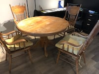 Kitchen Table with 4 chairs with covers for sale Oxnard, 93036