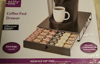 NIFTY 54 Capacity K-Cup Drawer, NEW Mobile