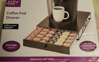 NIFTY 54 Capacity K-Cup Drawer, NEW