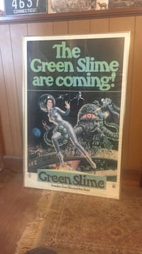 The Green Slime are coming poster Old Saybrook, 06475
