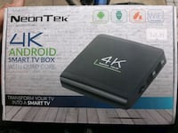 Neontek 4k android smart tv box with quad core Vancouver, V5Y 3J6