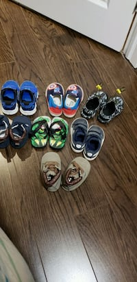 Toddler Boy Shoes (size- 4, 5, 6, 6.5)