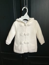 Girls LILLY WICKET Cotton/acrylic off-white sweater… Size 12 months Manasquan, 08736