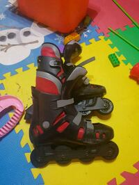 black-and-red inline skates Markham, L3R 9S5